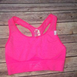 Pink Victoria Secret Racerback bra